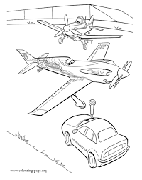 plane coloring coloring
