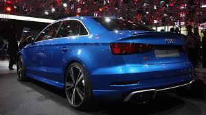 audi rs 3 sedan audi released the rs3 sedan and it is as bonkers as any gearhead