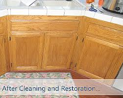 Kitchen Cabinet Cleaning Service Cabinet Restoration Experts Kitchen Makeovers Inc