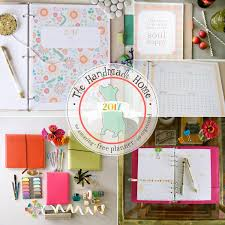 free planner 2017 the handmade home