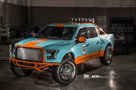 Ford F150 Truck Rims - gulf 2016 ford f 150 has gulf livery and adv 1 wheels autoevolution