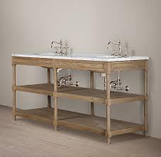 Restoration Hardware Bathroom Vanity by Decor Look Alikes Restoration Hardware Weather Oak Double