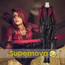 Halloween Costumes Womens Superheroes Aliexpress Buy Green Arrow Thea Queen Costume Arrow Season 4