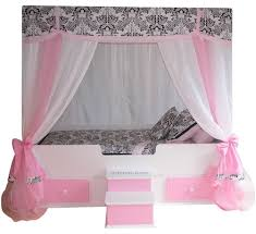 Girls Canopy Bedroom Sets Best 25 Toddler Canopy Bed Ideas On Pinterest Kids Bed Canopy