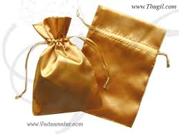 gift bags for weddings thugil online store gift bag india weddings festivals satin cloth