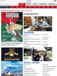 Great Loop Map America U0027s Great Loop Article In U0027afloat U0027 Magazine Balakera Com