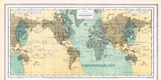 magnetic declination map magnetic declination sold antique maps and charts