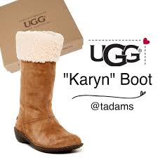 ugg womens karyn boot 55 ugg shoes nib ugg boots karyn from tracy s closet on