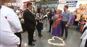 this couple just had their dream wedding at costco