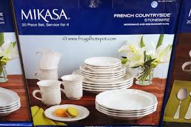 costco clearance mikasa countryside stoneware 20