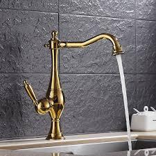 plomberie robinet cuisine placage titane or rotatif cuisine moderne robinet noir mitigeur
