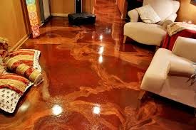 Laminate Flooring Concrete Slab Residential Cutting Edge Decorative Concrete