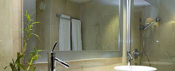 Mirror In A Bathroom Bespoke Mirrors And Mirror Glass Letchworth P U0026d Glass