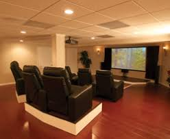 finished basement ideas also with a basement finishing system also