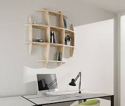 Wooden Wall Bookshelves by 14 Best Wall Shelves Images On Pinterest Wall Shelves
