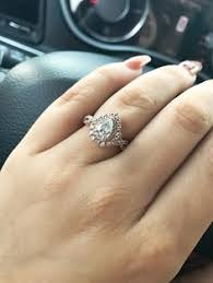 neil pear shaped engagement ring the prettiest ring i ve seen happily after