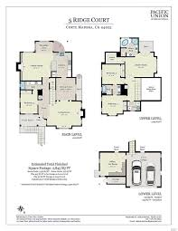 mohawk college floor plan 5 ridge court corte madera ca 94925 coldwell banker giovannoni