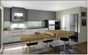 hauteur table cuisine table cuisine beau ilot central table hauteur plan de travail ou
