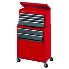 24 Drawer Storage Cabinet by Stack On 24 In 6 Drawer Tool Chest And Cabinet Combo Red Sc 600