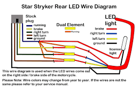 stryker led brake light kit u2013 low and mean