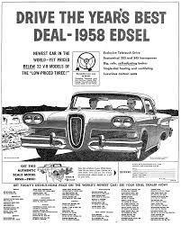 newspaper car ads plan59 old newspaper ads 1958 edsel