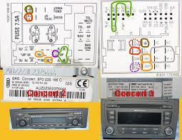 audi a4 symphony ii wiring diagram wiring diagram