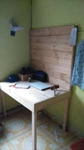 Diy Study Desk Pallet Study Desk Diy Computer Desk
