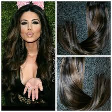 balayage hair extensions 1b 4 arabian princess balayage hair extensions clip in set
