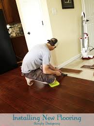 Laminate Flooring Over Tiles How To Install Floating Laminate Wood Flooring Part 2 The