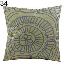 home decor vintage geometric cotton throw pillow case cushion