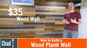 35 diy wood plank wall