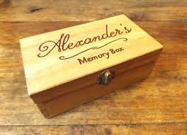 personalized wooden keepsake box best 25 wooden memory box ideas on painted wooden