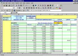 Daily Flow Template Excel Excel Flow Budgeting
