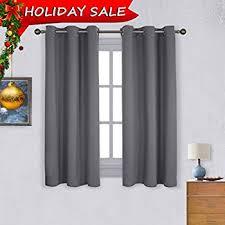 Blackout Curtains Windows Bedroom Blackout Curtain Window Treatment Grey