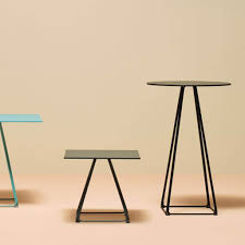 lunar table base standing business interiors