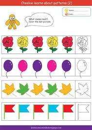 19 best örüntüleme images on pinterest worksheets kindergarten