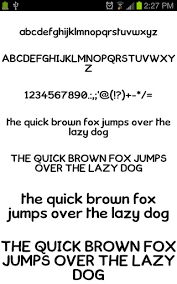 fonts for android neat fonts for flipfont free apk for android