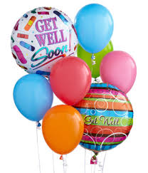 get well soon and balloons get well soon balloon bouquet at from you flowers