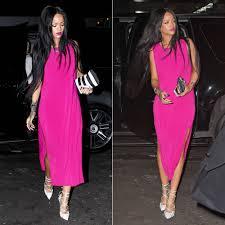 fuschia pink dress what colour shoes style guru fashion glitz