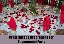 party centerpieces unique engagement party decorations ideas how to decorate an