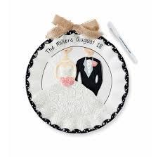 and groom plates personalized wedding plate wedding plates wedding keepsake