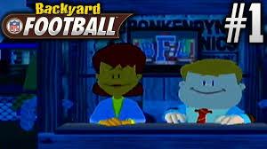 backyard football gamecube season mode ep1 oh boy youtube