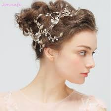 hair accessories for prom aliexpress buy jonnafe new freshwater pearls hair jewelry