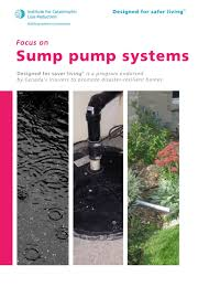 low water sump pump focus on sump pump systems