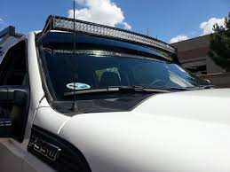 f250 led light bar roof mounts for rds series curved led light bars by rigid industries