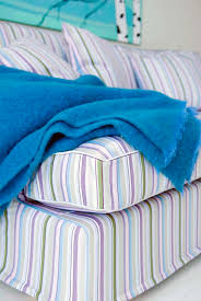 Washable Sofa Slipcovers by Add Pizzazz To Ikea Sofas With New Multi Stripe Slipcovers From Bemz