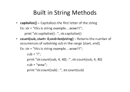 python lecture 5