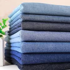 Blau Schwarz Muster Mode 7 Muster Blau Schwarz 100 Baumwolle Denim Stoff B禺ndel F禺r