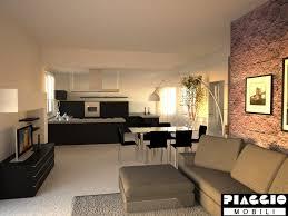 cucine e soggiorno gallery of fratelli piaggio cucina soggiorno ambiente unico cucina