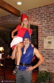 gnomeo juliet halloween couples costume ideas 2012